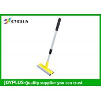 China PP Sponge Iron Material Window Cleaning Squeegee With Telescopic Handle on sale