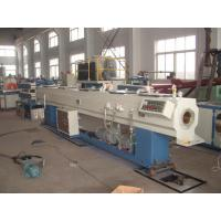 Buy cheap Full Automatic PVC Plastic Pipe Extrusion Line With Simens Motor product