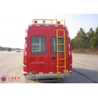 Buy cheap Max Speed 115KM/H Emergency Command Vehicles , Approach Angle 20° Fire And Rescue Vehicles product