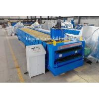 Buy cheap Trapezoid Roof Panel Roll Forming Machine For Commercial Metal Buildings product