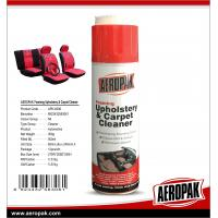 Buy cheap AEROPAK 500ML aerosol spray can Upholstery and Carpet Cleaner product