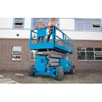 Buy cheap Rough Terrain Scissor Lifts With Fully Electric Motor Drive And Hydraulic Motor Drive product