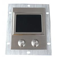 Buy cheap Dustproof Metal Industrial Touchpad With Rear Panel Mounting Solution product