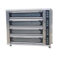Buy cheap 4 Deck 8 Trays Commercial Baking Oven Digital Display Ceramic Heating Deck Oven for Bread product
