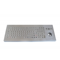 Buy cheap IP65 industrial Metal Keyboard with numeric keys with trackball from wholesalers