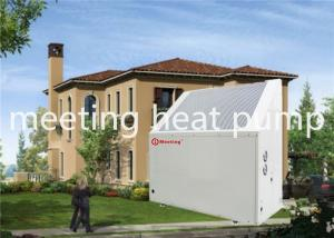 Buy cheap MDN30D 12KW 220 V Ultra Quiet Air Source Heat Pump Air To Water Heat Pump Water Heater product