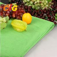 Buy cheap Workshop Floor / Supermarket PVC Fruit Mat Black Vegetable Mat Width 164CM product