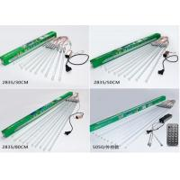 Buy cheap Holiday 30cm LED Meteor Lights , White / Multicolor Shower Rain Tube Lights product