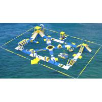 Buy cheap Lake Inflatable Water Games For Adults / Bouncia Water Inflatable Park Manufacturer product