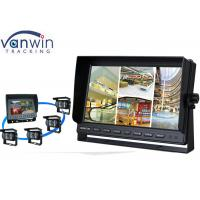 Buy cheap Rack Mount 10 Inch HD Car TFT LCD On-board Monitor Display with Quad Pictures product