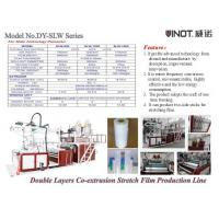Buy cheap Vinot Brand Cast Stretch Film Machine with which can have single side sticky  Model No. SLW-600 product