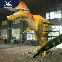 Buy cheap Waterproof Life Size Models Of Animals / Dinosaur Garden Ornaments product
