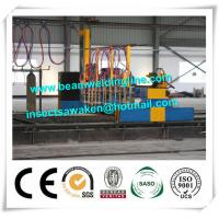 China Professional CNC Plasma Cutting Machine , Flame H Beam Cutting Machine CE / ISO on sale