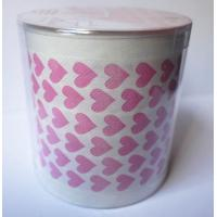 Buy cheap Red Heart printed toilet paper roll with pvc tube product