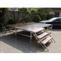 Buy cheap Lightweight Unique Layer Aluminum Truss Stage Folding Heavy Load Capacity product