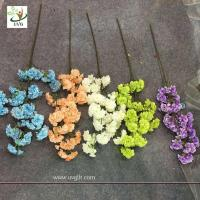 Buy cheap UVG silk flower arrangement in artificial blossom tree branches wedding backdrops material CHR130 from wholesalers