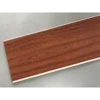 Buy cheap Eco Friendly PVC Wood Plastic Laminate Panels Flat Shape 250 × 8mm × 5.95m product