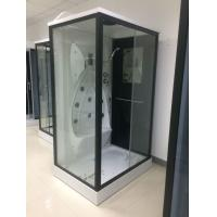 Buy cheap Back Jets Massage Complete Shower Room 3 Sided Waste Drain / Syphon Included product