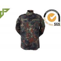 Buy cheap Woodland ACU Army Combat Uniform , Camouflage Police And Security Uniforms product