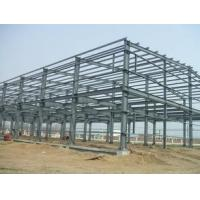 Buy cheap Q235 / Q345 Grade Simple Industrial Steel Structures , Prefab Factory Steel Buildings product