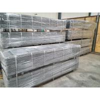 Buy cheap Galvanized Construction Expanded Metal Rib Lath 0.3mm Thickness For Stucco product