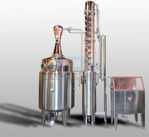 Buy cheap 600L Moonshine/Whiskey/Vodka Copper Distiller Spirit Distiller product