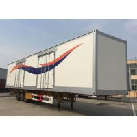 China 40 Feet Container Flatbed Semi Trailer Truck 2 Or 3 Axles 30-60 Tons 13m on sale