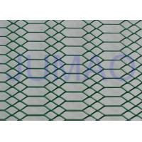 Decorative Architectural Expanded Metal Ceiling Mesh With Two Style Holes