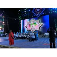 65536 Dots / M² P3.91 Stage Rental Led Display , Led Backdrop Screen Rental