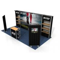 Buy cheap Custom Print Trade Show Booth Displays, Exhibition Portable Trade Show Booths product