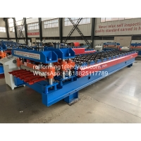 Buy cheap High Grade Metal Glazed Roof Tile Roll Forming Machine Width 1250mm product