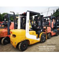 Buy cheap tcm used diesel forklift manual 3 ton isuzu engine with 3000mm mast from wholesalers
