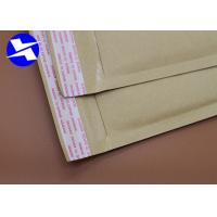 Buy cheap Multi - Functional Kraft Paper Bubble Mailers Self Adhesive Seal 6*10 Inch from wholesalers
