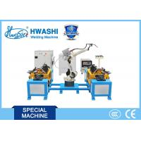 Buy cheap Hwashi Stainless Steel Industrial Chair Automatic Robot Arm Welding Machine product