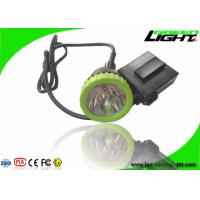 Buy cheap 3.7W High Power LED Coal Mining Lights 50000lux 13hrs Lighting Time Head Lamps from wholesalers