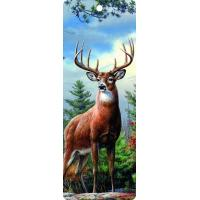 Buy cheap Cute Reindeer 5.6x15.3cm Size 3D Lenticular Bookmark With Colorful Tassel product
