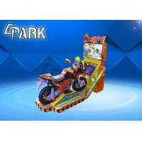 China Kids Coin Operated Motorcycle Simulator / Arcade TT Motor Racing Video Game Machine on sale