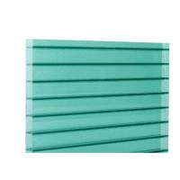 China 6mm to 12mm Thickness Twinwall Polycarbonate Hollow Sheet with Ten Year Warranty on sale