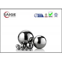 Buy cheap Solid large chrome steel sphere G10 AISI 52100 1/2'' inch diameter from wholesalers