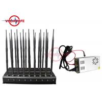 Buy cheap All In One Mobile Phone Signal Jammer , Full Band Cell Phone Jamming Device 25M Radius product