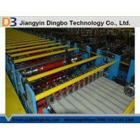 China Corrugated Steel Roofing Roll Forming Machine with 3kw Hydraulic Motor Power on sale