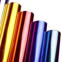 Buy cheap Multi Colors Hot Stamping Foil Rolls for Plastics Glass Metallic Products from wholesalers