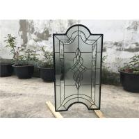 Buy cheap Tinted Custom Cabinet Doors Glass , Clear Decorative Glass Inserts For Cabinet Doors product