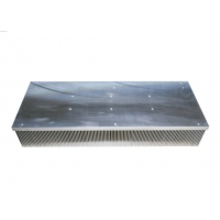 Buy cheap Mill Finished Aluminium Extrusion Heat Sink For Audio / Audio Heat Sink product