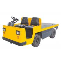 Buy cheap Pneumatic Battery Operated Platform Truck , Electric Industrial Tow Tractors 3000kg product