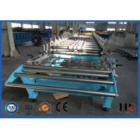Buy cheap Hydraulic Decoiler Standing Seam Roof Sheet Roll Forming Machine 30 M / Min product