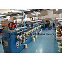 Buy cheap 16 Pcs Round Copper Wire Annealing Machine 100m/min Sky Blue With Brush Pay Off from wholesalers