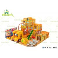 Buy cheap Construction Engineering Theme Park Kids Indoor Playground Electrostatic Baking Painting product