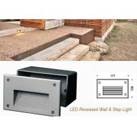 Buy cheap Waterproof Outdoor Recessed LED Wall Lights ,3W Decoration LED Step Light from wholesalers