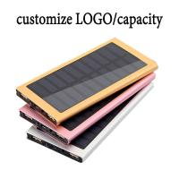 Buy cheap High Capacity Solar Charger Power Bank 10000mAh External Battery Pack OEM / ODM product